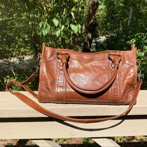 FINAL PRICE Frye Melissa Satchel